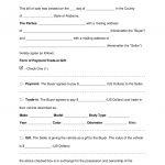 Free Alabama Motor Vehicle Bill Of Sale Form   Word | Pdf | Eforms   Free Printable Bill Of Sale For Vehicle In Alabama