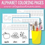 Free Alphabet Coloring Pages – Preschool Printables – Slap Dash Mom   Free Printable Preschool Alphabet Coloring Pages