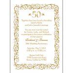 Free Anniversary Invitation Cliparts, Download Free Clip Art, Free   Free 50Th Anniversary Printables