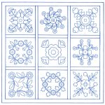 Free Applique Quilt Block Patterns | Traditional Applique Patterns   Free Printable Flower Applique Patterns