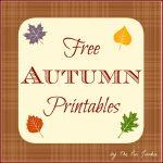 Free Autumn Printables   Free Autumn Printables