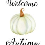 Free Autumn Printables  Watercolor And Calligraphy Fall Art | My   Free Autumn Printables