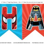 Free Avengers Birthday Party Printables | Ellierosepartydesigns   Free Avengers Birthday Party Printables