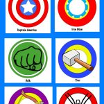 Free Avengers Printables And New Avengers Super Heroes Assemble App   Free Avengers Birthday Party Printables