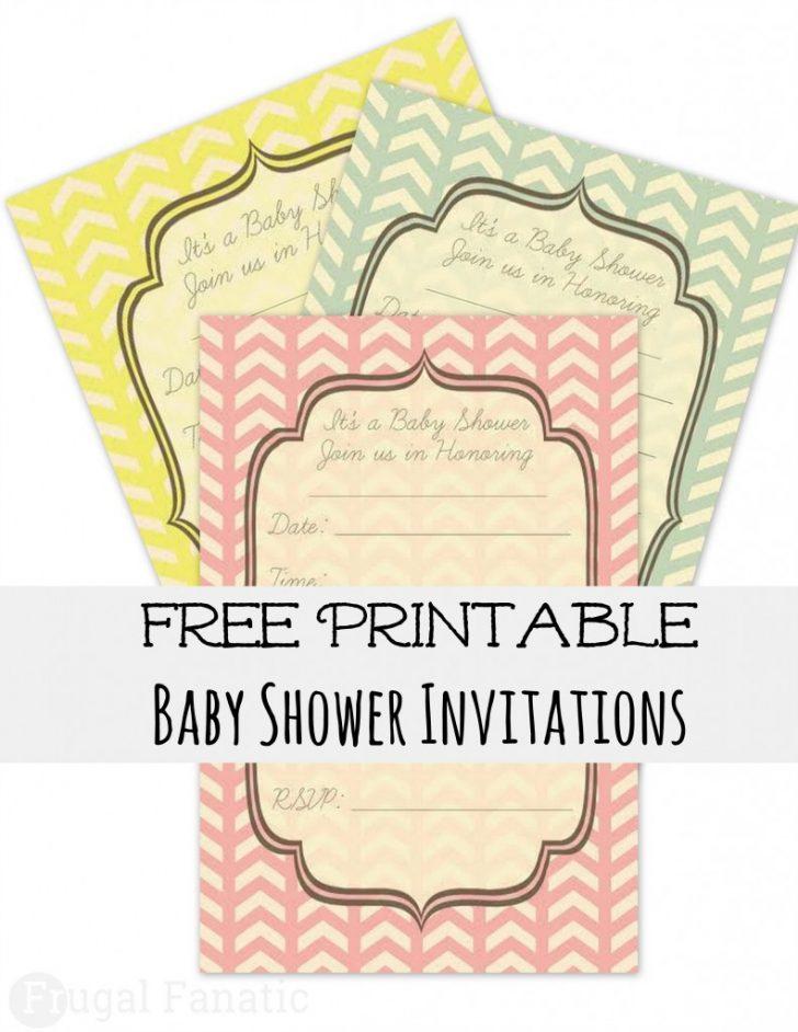 Baby Invitations Printable Free