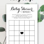 Free Baby Shower Printable – Baby Bingo   Instant Download In 2019   Free Printable Baby Shower Bingo