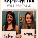 Free Bachelorette Party Printable   Before And After Signs   Free Printable Bachelorette Signs