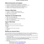 Free Bible Worksheets For Adults | Poweredtumblr . Minimal Theme   Free Printable Bible Study Lessons For Adults