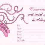 Free Birthday Invitations To Print For Kids: Choose Your Theme   Free Printable Toddler Birthday Invitations
