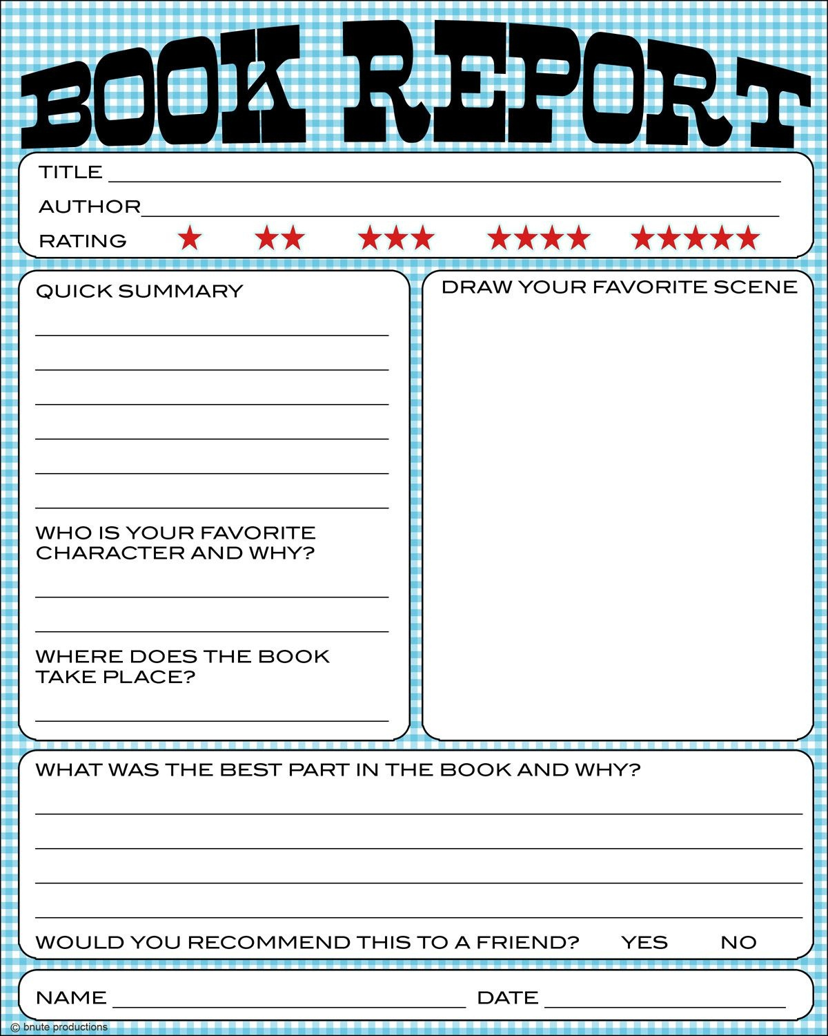 Free Book Report Printable - Great For Lower Primary Grades. It Also - Free Printable High Interest Low Reading Level Stories