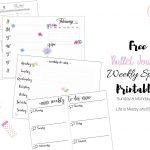 Free Bullet Journal Printables   Free Printable Journal Templates