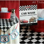 Free Cars Birthday Party Printables   Free Printable Cars Water Bottle Labels