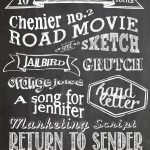 Free Chalkboard Fonts And Free Printable | Scrapbooking | Chalkboard   Free Printable Fonts No Download