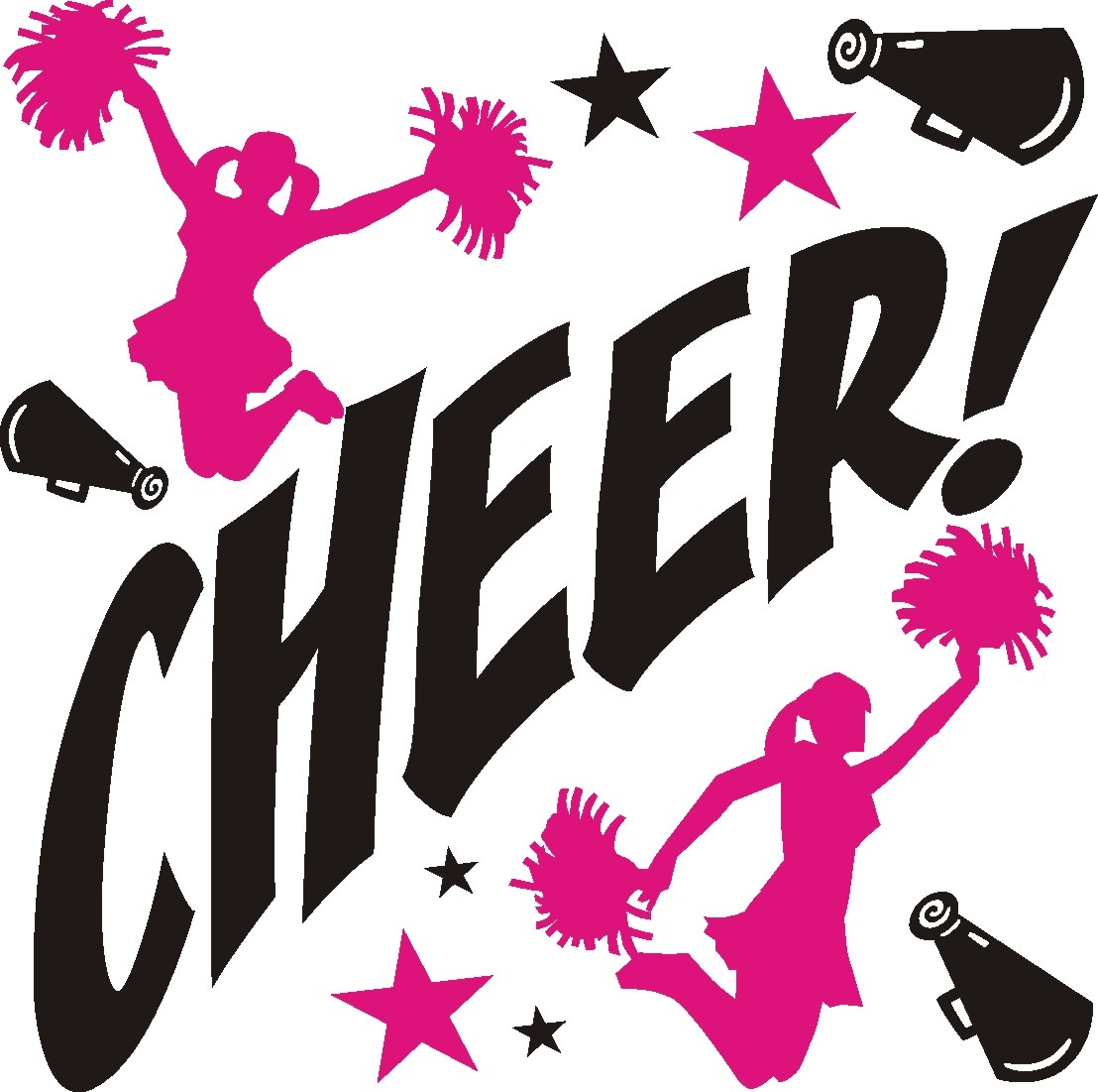Free Cheerleading Clipart | Free Download Best Free Cheerleading - Free Printable Cheerleading Clipart