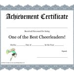 Free Cheerleading Printables | Best Cheerleader Printable Awards   Free Printable Cheerleading Certificates