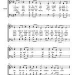 Free Choir Sheet Music – Jesus Paid It All | Arts | Violin Songs   Free Printable Christian Music Lyrics