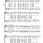 Free Choir Sheet Music – Were You There | Free Sheet Music | Gospel   Free Printable Christian Music Lyrics