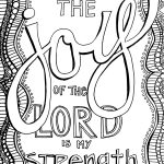 Free Christian Coloring Pages For Adults   Roundup   Joditt Designs   Free Printable Bible Coloring Pages With Verses