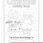 Free Christmas Activity Book Printable   Bright Star Kids   Free Christmas Printables For Kids