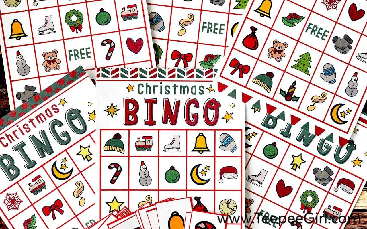 Free Christmas Bingo Game Printable - Free Christmas Bingo Game Printable