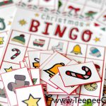 Free Christmas Bingo Game Printable   Free Holiday Games Printable