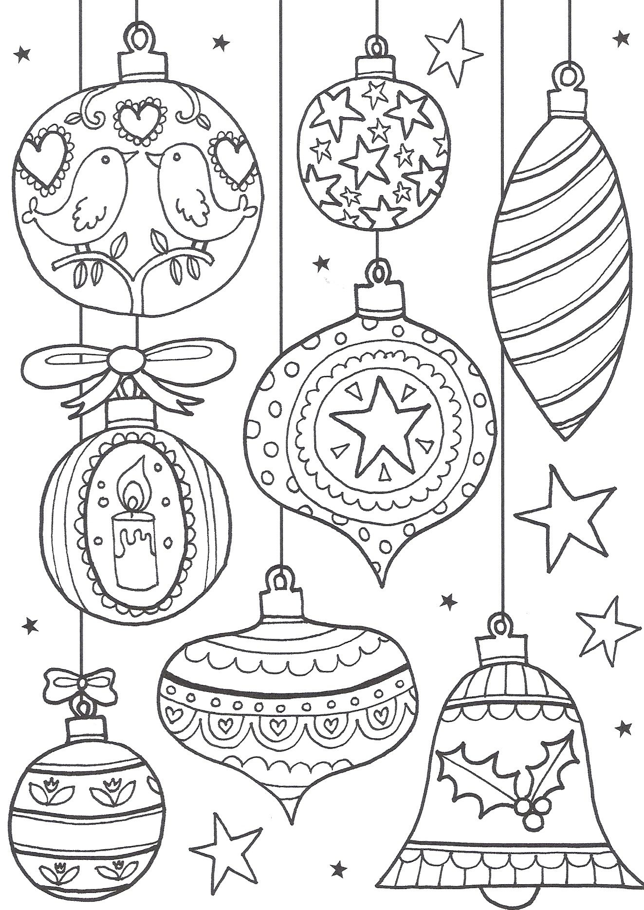 Free Christmas Colouring Pages For Adults – The Ultimate Roundup - Free Printable Christmas Coloring Sheets