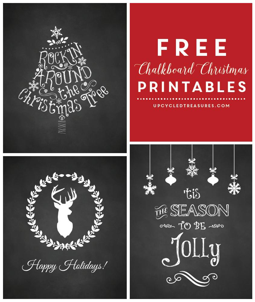 Free Christmas Printables - Free Christmas Printables