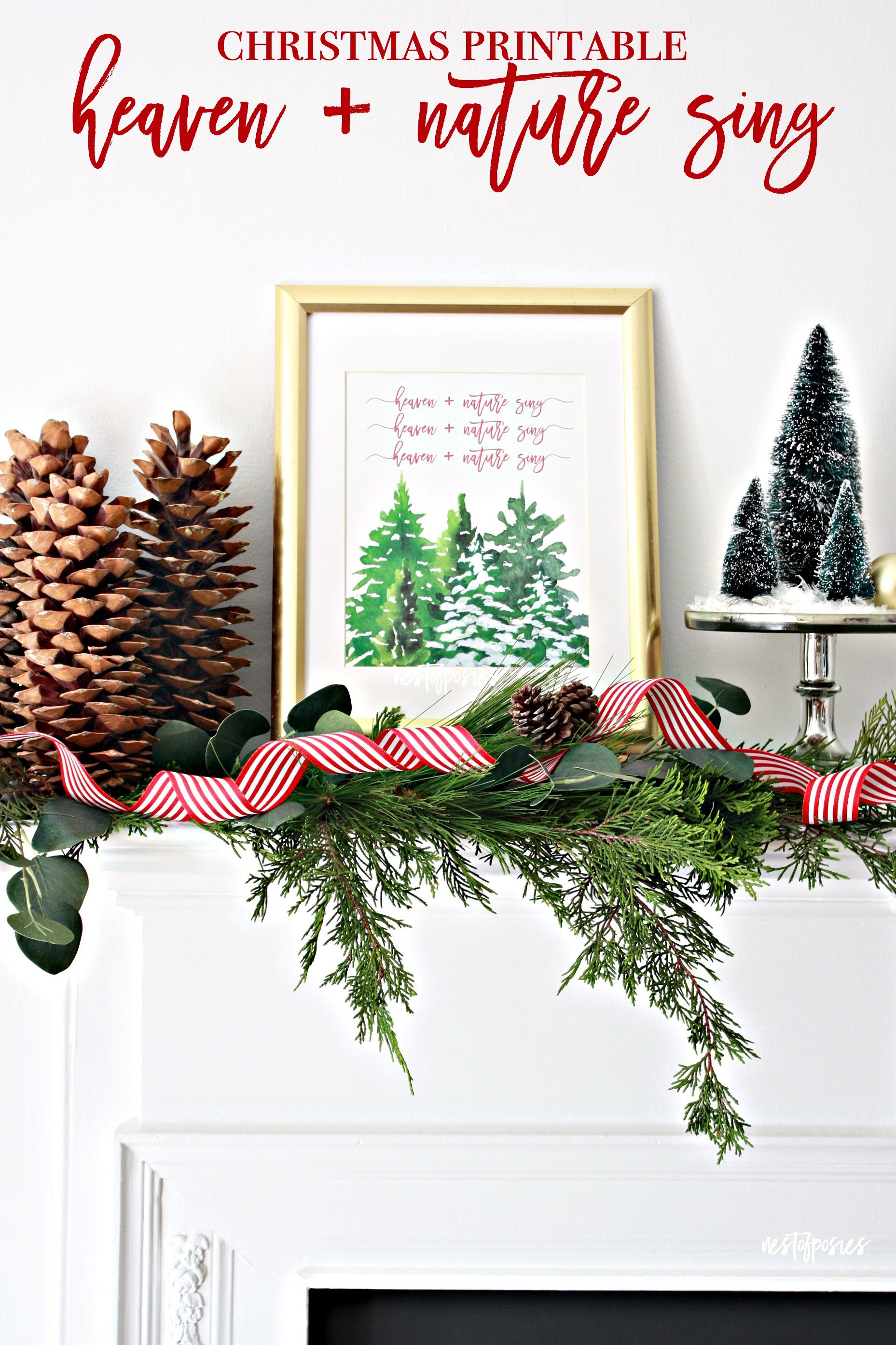 Free Christmas Printables That'll Look Great In Your Home | Eighteen25 - Free Christmas Printables