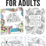 Free Coloring Pages For Adults   Easy Peasy And Fun   Free Printable Coloring Book
