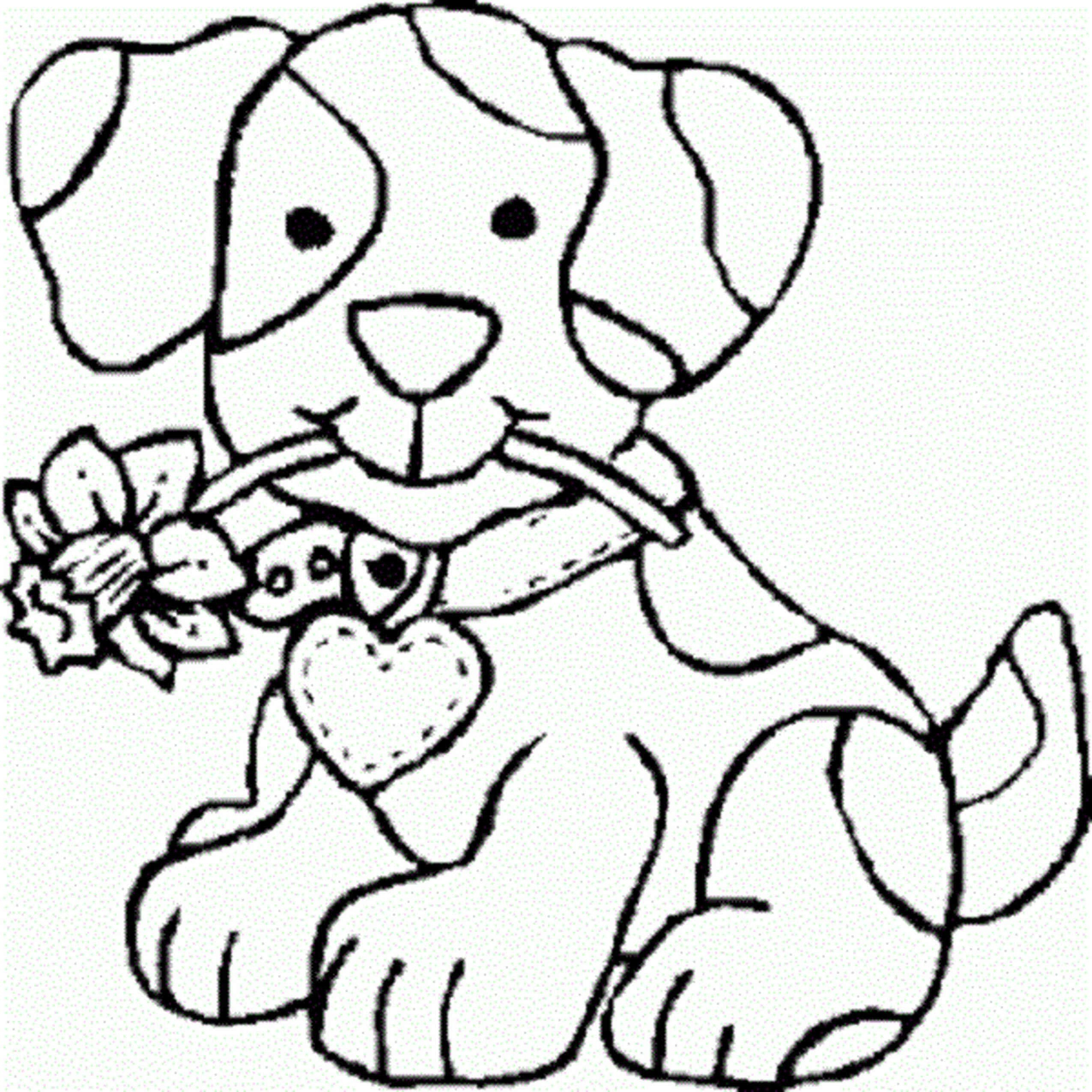 Free Coloring Pages For Girls | Colorings | Coloring Pages For Girls - Colouring Pages Dogs Free Printable