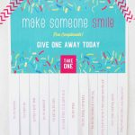 Free Compliments   Take What You Need! | Skip To My Lou   Free Printable Compliment Cards