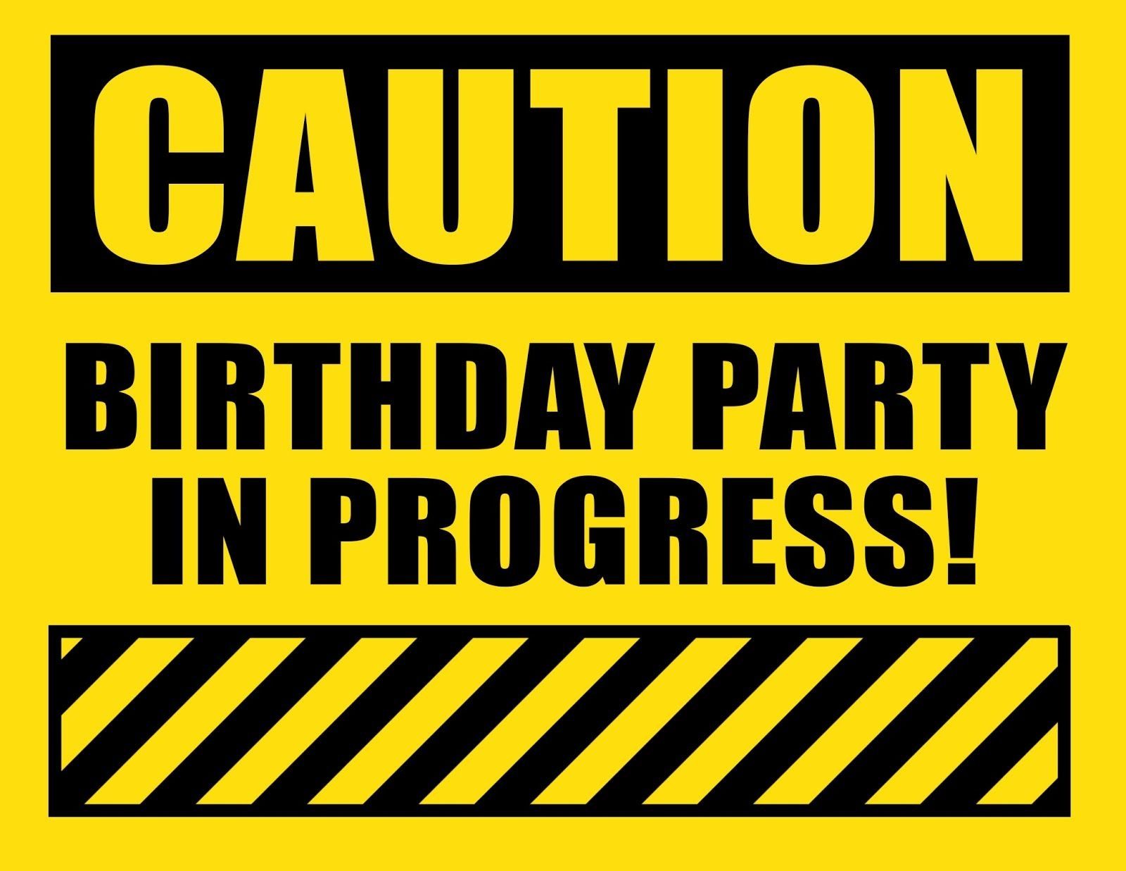 Free Construction Birthday Party Printables. Construction Party - Free Construction Party Printables