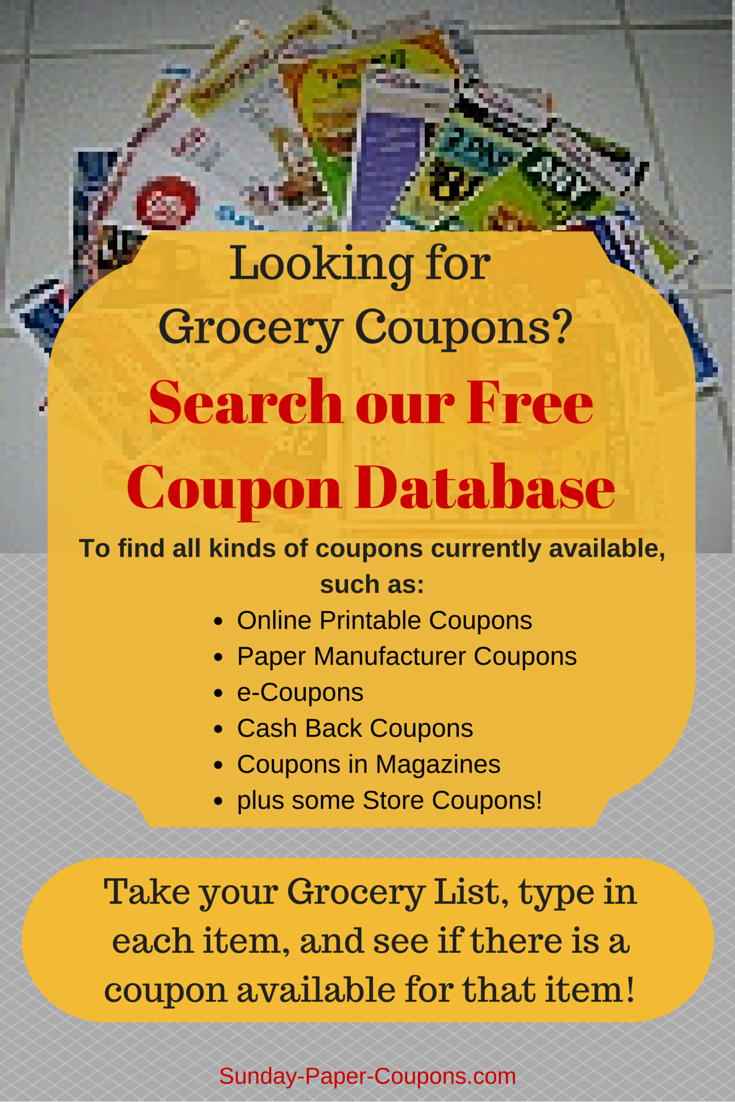 Free Couponsmail | How To Get Coupons In The Mail | Couponing - Manufacturer Coupons Free Printable Groceries