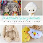 Free Crochet Patterns For Spring   Daisy Cottage Designs   Free Printable Crochet Patterns