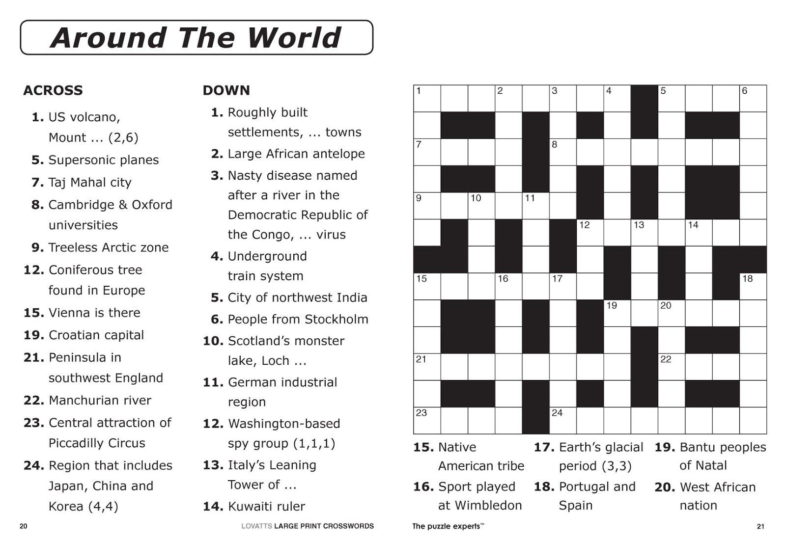 Free Daily Printable Crossword Puzzles Easy - Loveandrespect - Free Daily Printable Crossword Puzzles