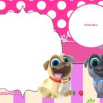 Free Disney Puppy Dog Pals Invitation Templates | Free Printable   Dog Birthday Invitations Free Printable