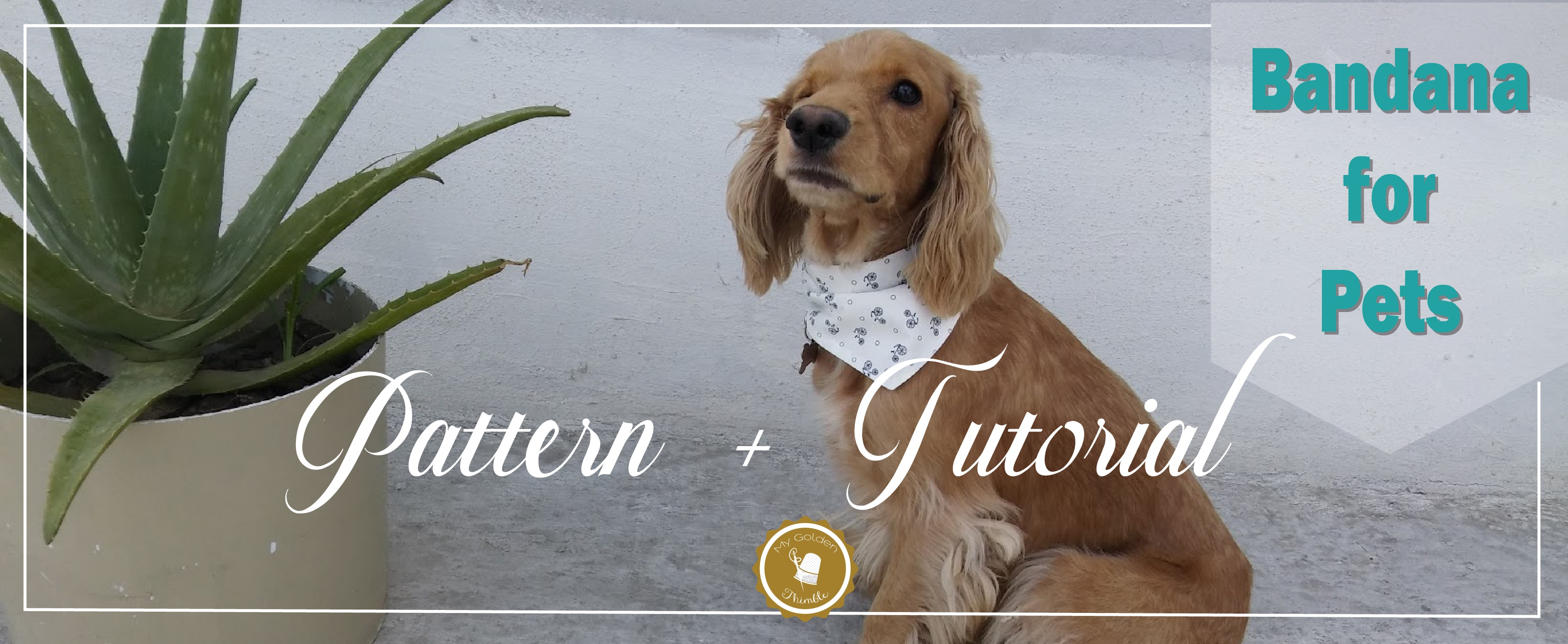 Free Dog Bandana Pattern Diy: For All Sizes! | My Golden Thimble - Dog Sewing Patterns Free Printable