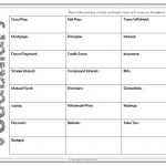 Free Download   Vocabulary For Financial Literacy   7Th Grade Math   Free Printable 7Th Grade Vocabulary Worksheets