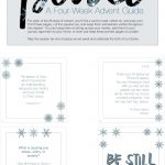 Free Downloadable   A 4 Week Advent Guide For Peace #advent   Free Printable Advent Bible Study
