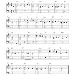 Free Easy Christmas Piano Sheet Music | What Child Is This?   Free Printable Christmas Music Sheets Piano