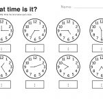 Free Easy Elapsed Time Worksheets | Activity Shelter   Free Printable Telling Time Worksheets