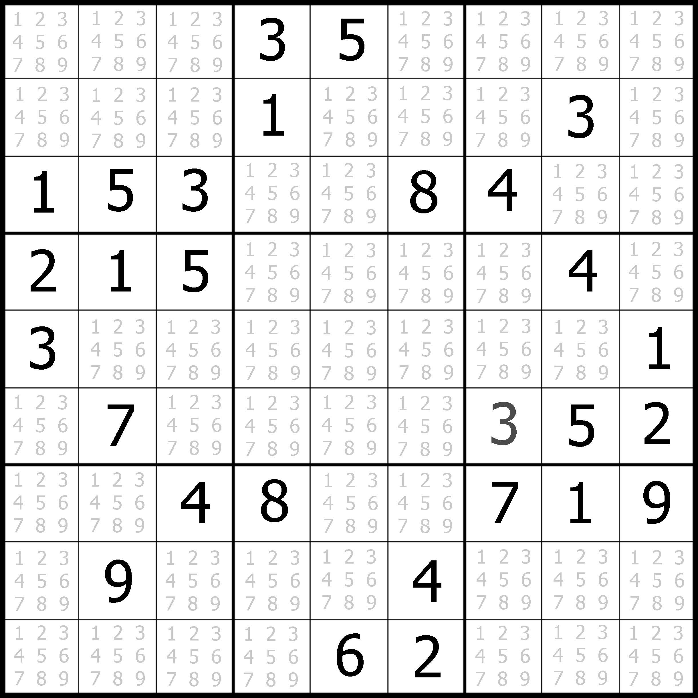 Free Easy Sudoku Puzzle #04 | Sudoku Puzzler - Free Printable Sudoku Easy