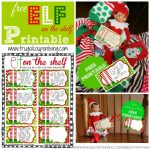 Free Elf On The Shelf Printable Notes   Elf On The Shelf Free Printable Ideas