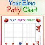 Free Elmo Potty Training Chart   Acn Latitudes   Potty Training Chart Free Printable