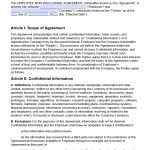 Free Employee Non Disclosure Agreement (Nda) | Pdf | Word (.docx)   Free Printable Non Disclosure Agreement Form