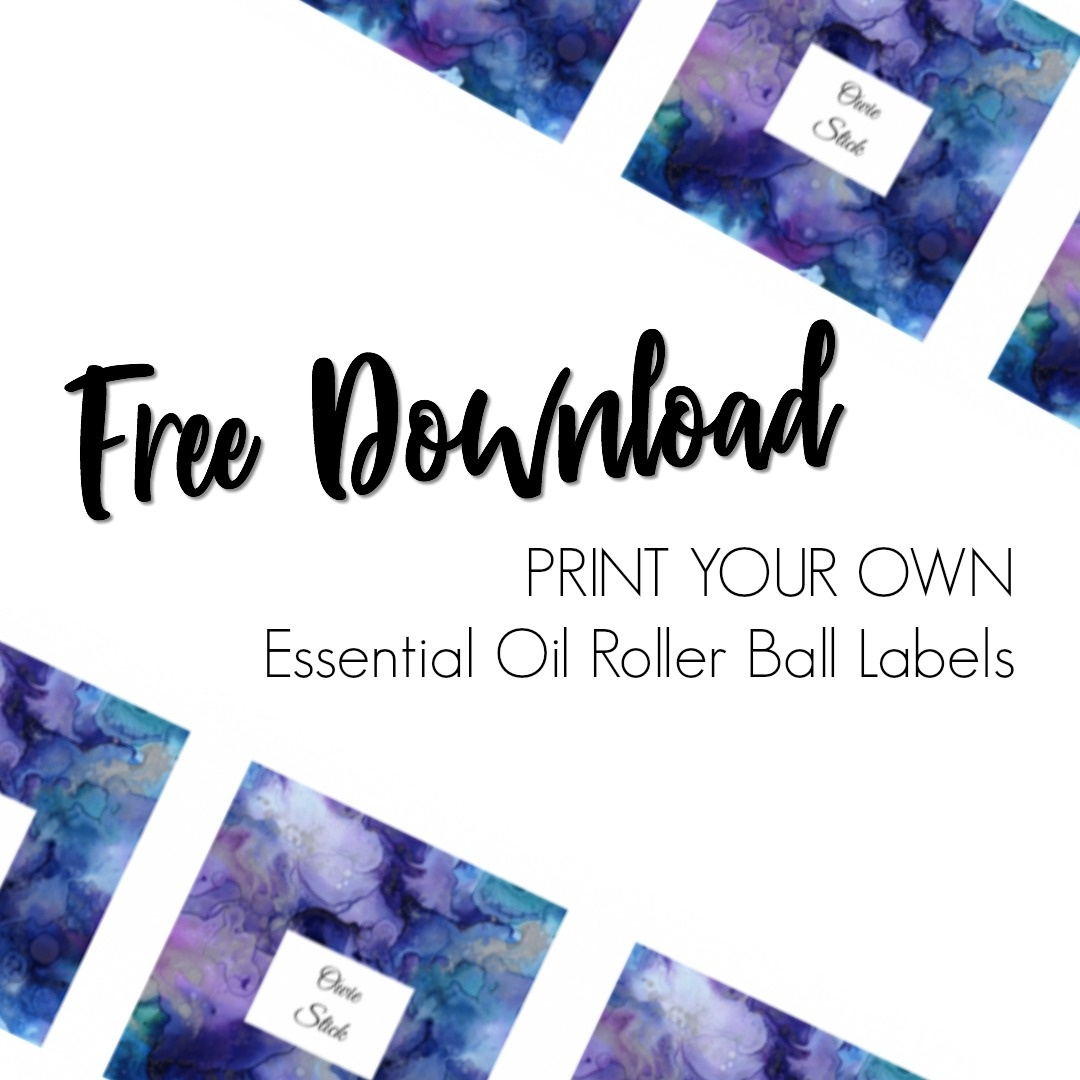 Free Essential Oil Printable Bottle Labels - Kate Shelby - Free Printable Roller Bottle Labels