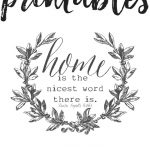 Free Farmhouse Printables For Your Home   The Mountain View Cottage   Free Printable Sud