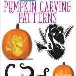 Free Finding Dory Pumpkin Carving Patterns To Print! | All Things   Pumpkin Carving Patterns Free Printable
