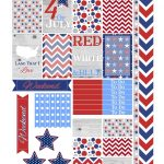 Free Fourth Of July Printable Planner Stickers | Home Office   Free Printable 4Th Of July Stationery