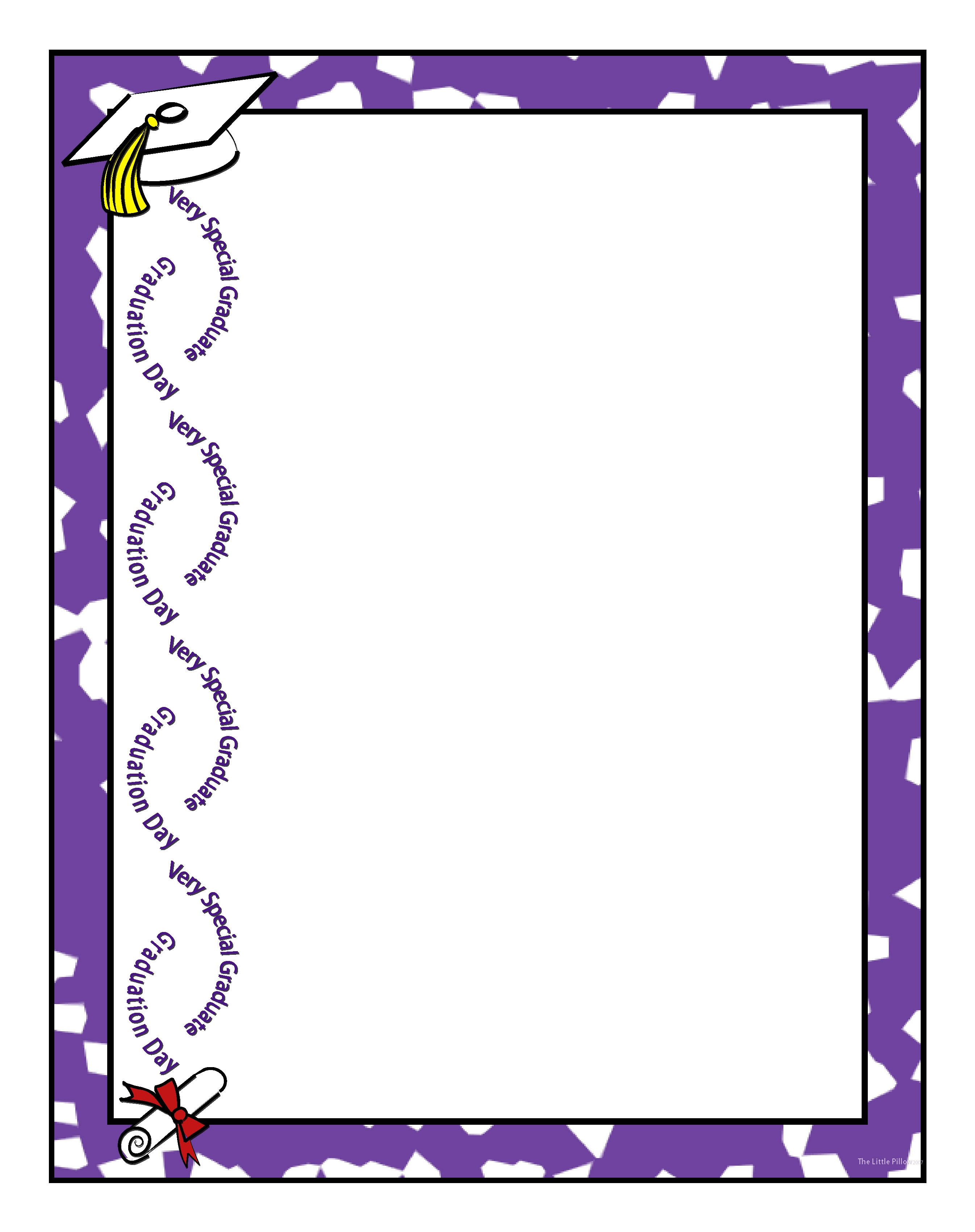 Free Free Graduation Borders, Download Free Clip Art, Free Clip Art - Free Printable Graduation Paper